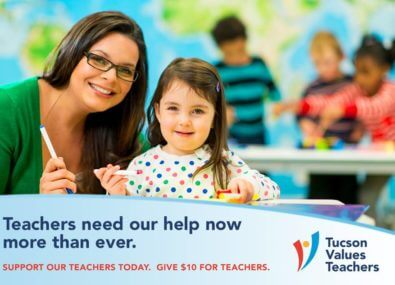 Give $10 for Teachers
