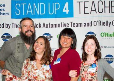 Stand Up 4 Teachers banner