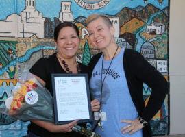 Nicole Ramirez, September 2017 Teacher Excellence Award Winner