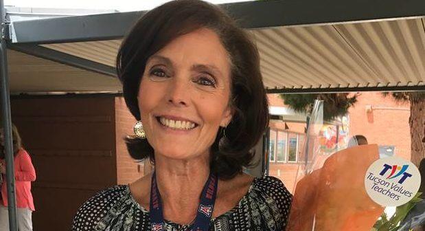 Claudia Zimmer, Teacher Excellence Award winner