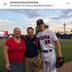 Baseball game photo