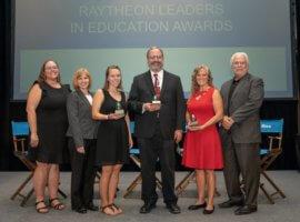 Raytheon Leaders in Education Award 2018 Winners