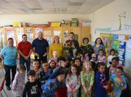 Julian Barcelo, February 2019 Teacher Excellence Award Winner