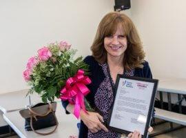 Sharon Yurtinus, March 2019 Teacher Excellence Award Winner