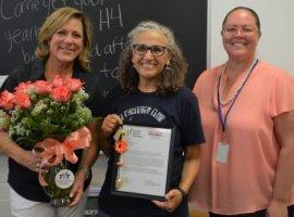 Hedwig Dennis, May 2018 Teacher Excellence Award Winner