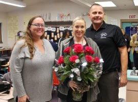 Donita Montgomery, December 2018 Teacher Excellence Award Winner