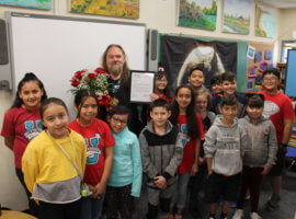 Sean Taylor, October 2019 Teacher Excellence Award Winner