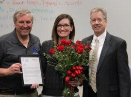 Gabrielle Halko, February 2020 Teacher Excellence Award Winner