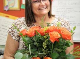Judy Dasse, August 2019 Teacher Excellence Award Winner
