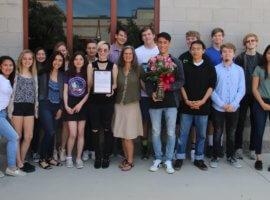 Christine In-Albon, May 2019 Teacher Excellence Award Winner