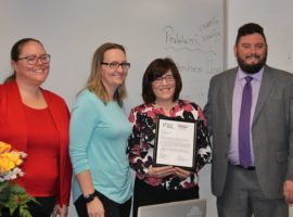 Jackie Nichols, January 2018 Teacher Excellence Award Winner