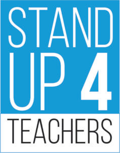 Stand Up 4 Teachers logo