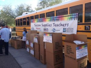 Tucson Supplies Teachers